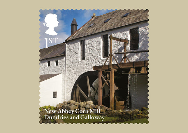 Windmills and Watermills Stamp Cards (3773655)