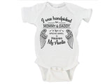 I Was Handpicked for Earth By My Grandma in Heaven (Custom Name Option) Gerber Onesie ®