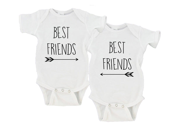 Best Friends Gerber Onesie ® Twin Set