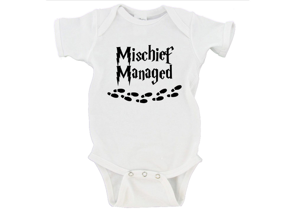 Mischief Managed Witch Wizard Gerber Onesie ®
