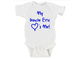 My Uncle (YOUR NAME HERE) <3's Me Gerber Onesie ®