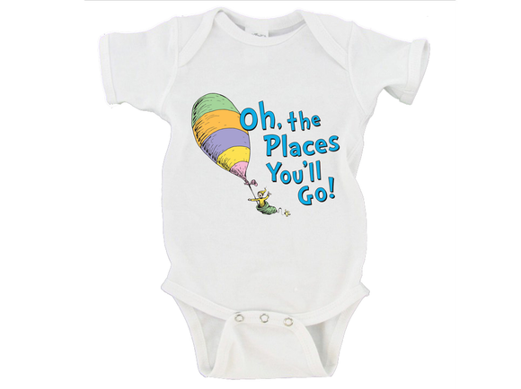 Oh The Places You'll Go! Gerber Onesie ®