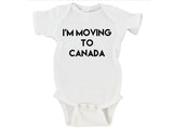 I'm Moving To Canada President Donald Trump Republican Gerber Onesie ® | Newborn - 24 Months