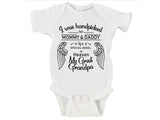 I Was Handpicked for Earth By My Great-Grandpa in Heaven (Custom Name) Gerber Onesie ®