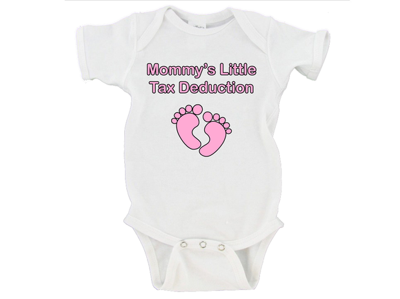 Mommy's Little Tax Deduction Gerber Onesie ®