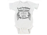 I Was Handpicked for Earth By My Grandma in Heaven (Custom Name) Gerber Onesie ®