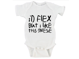 I'd Flex But I Like This Onesie Gerber Onesie ®