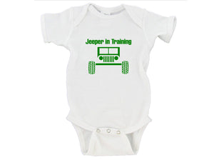 Jeeper In Training Gerber Onesie ®
