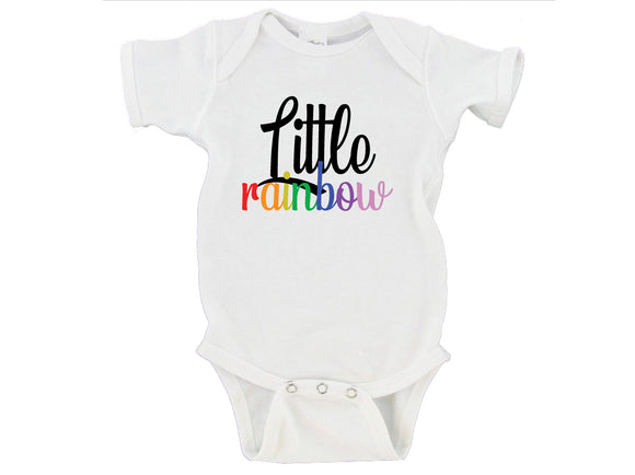 Little Rainbow Baby Bodysuit Onesie - RB3
