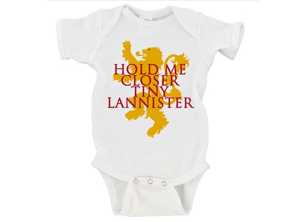 Hold Me Closer Tiny Lannister Gerber Onesie ®