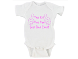 This Kid Has The Best Dad Ever! Father's Day Onesie Gerber Onesie ®