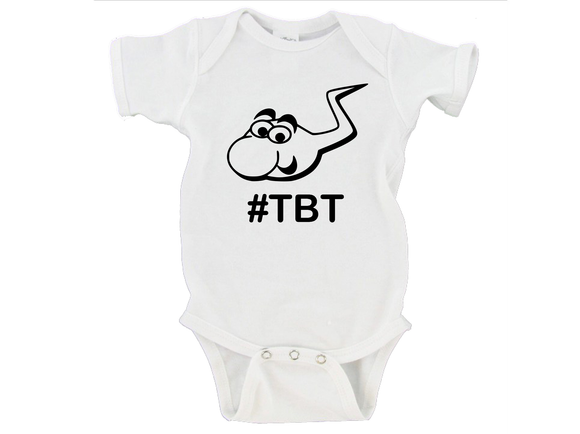 Throw Back Thursday #TBT Gerber Onesie ®