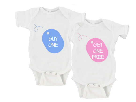 Buy One / Get One Free | Twin Set Gerber Onesie ®