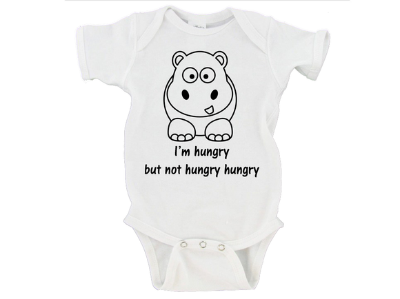 I'm Hungry but not Hungry Hungry Gerber Onesie ®