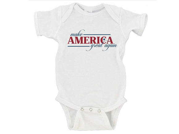 President Donald Trump Make America Great Again Republican Gerber Onesie ® | Newborn - 24 Months