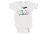 I Am The Rainbow After The Storm Gerber Onesie ®