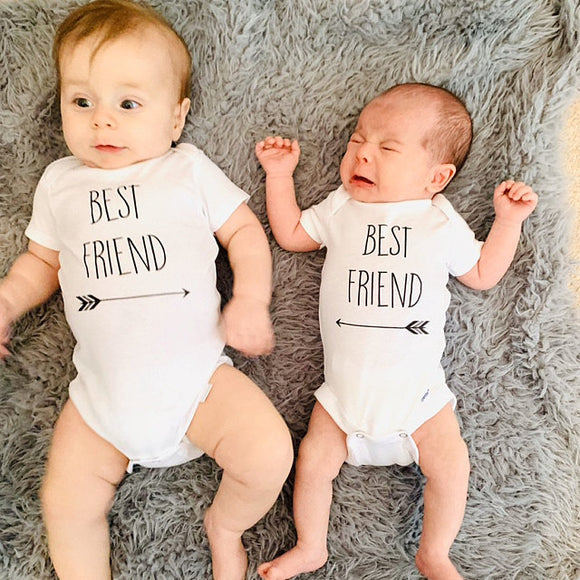Best Friend Gerber Onesie ® Twin Set