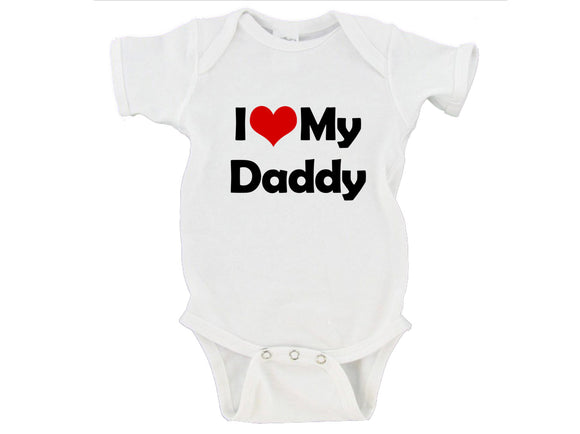 I Heart Love My Mommy / Daddy Gerber Onesie ®