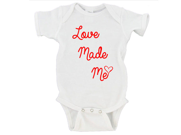 Love Made Me Gerber Onesie ®
