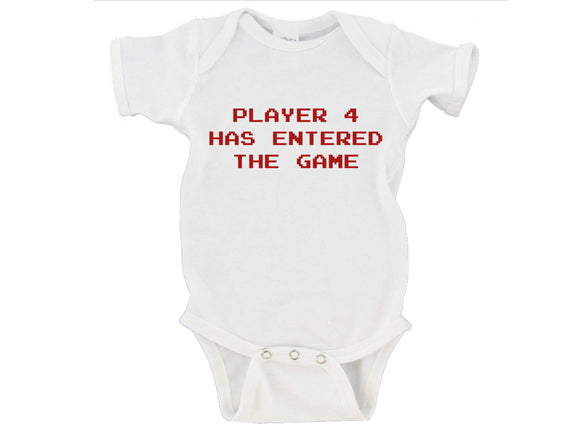 Player 4 Has Entered the Game Gerber Onesie ®