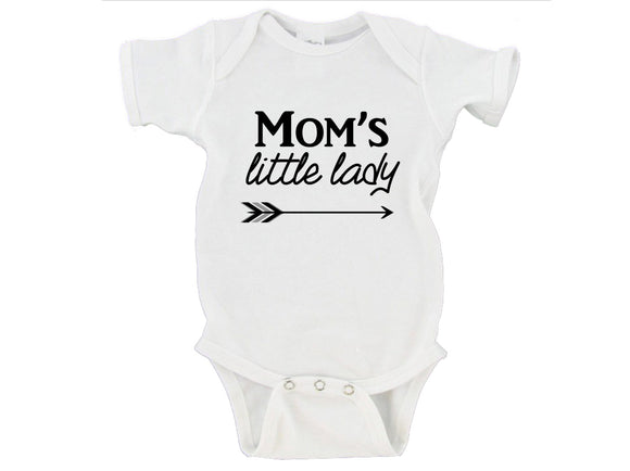 Mom's / Dad's Little Lady Gerber Onesie ® | Preemie - 24 Months