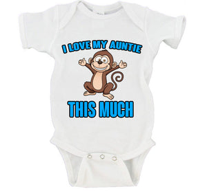 I Love My Aunt This Much Gerber Onesie ®