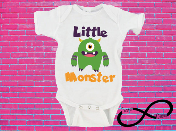 Little Monster Gerber Onesie ® Halloween Onesie