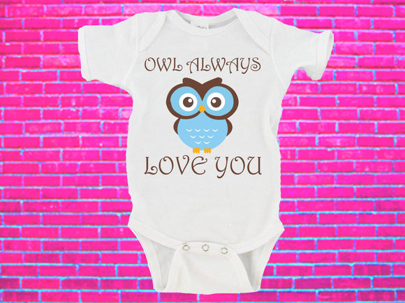Owl Always Love You Gerber Onesie ®