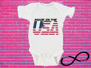 Made in the USA Gerber Onesie ®