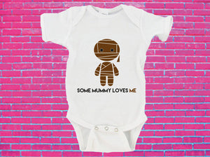 Some Mummy Loves Me Halloween Gerber Onesie ®