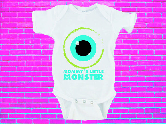 Mommy's Little Monster Gerber Onesie ® Halloween Onesie