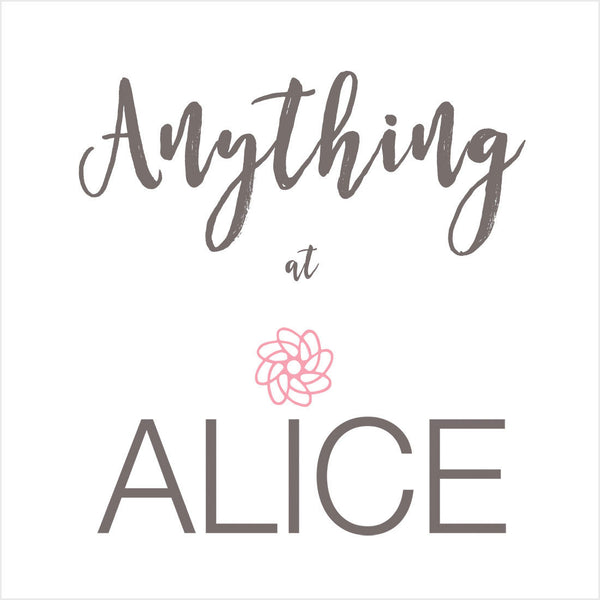 Introducing - ALICE Gift Cards Available Online!