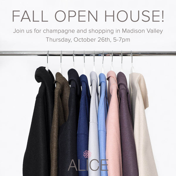 Madison Valley Open House October 26th!