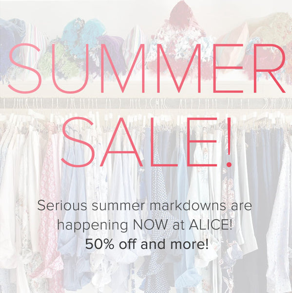 Our Summer Sale Has Started - Bring On the Sunshine!