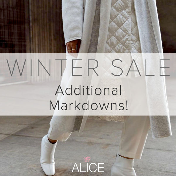 2020 Winter SALE - Additional Markdowns!