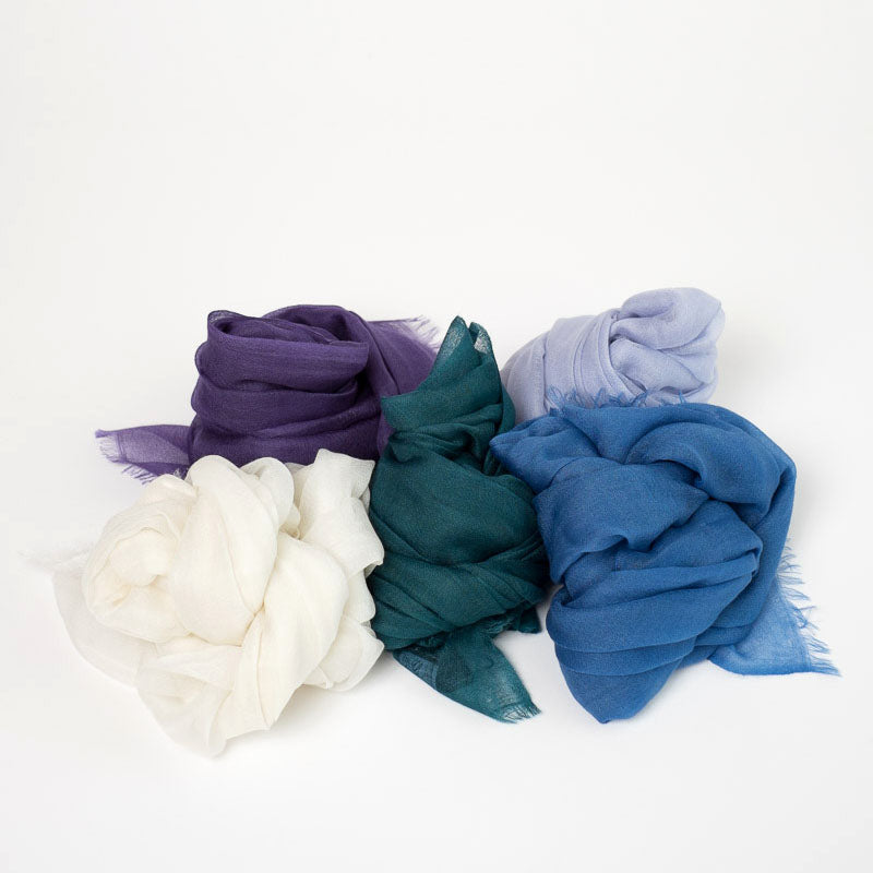 Alice Seattle tissue cashmere scarves