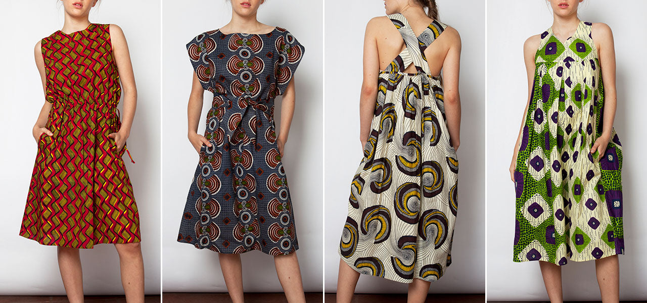 Lucy Wild cotton printed dresses at ALICE Seattle