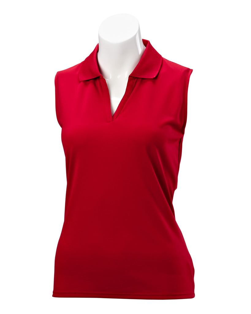 Nancy Lopez Luster Sleeveless Polo