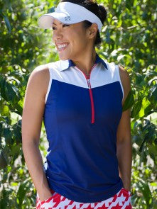JoFit Sleeveless Straight Up Golf Top