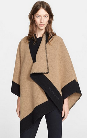 Burberry Color Border Cape