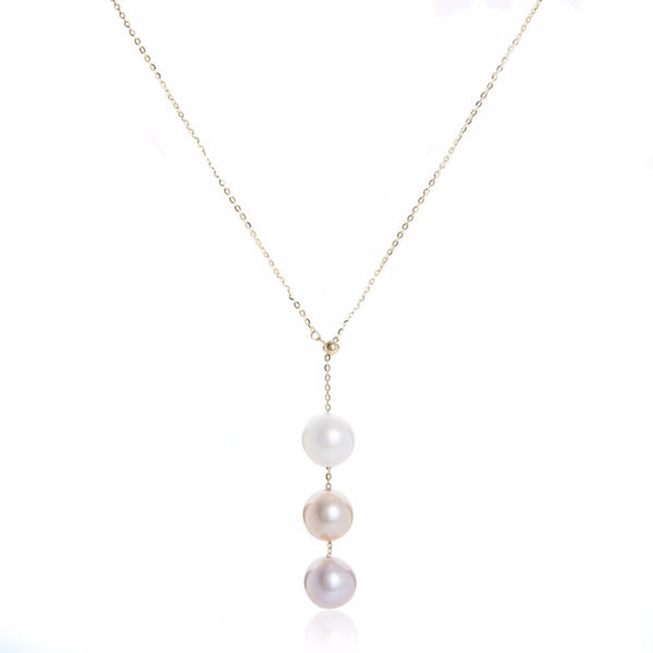 Rose- Pearl Necklace