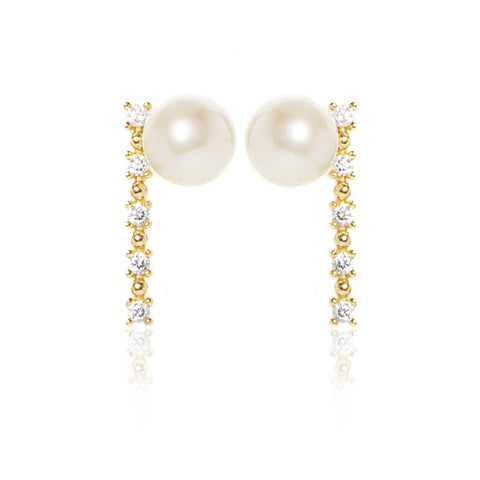 Laura- Pearl Earrings