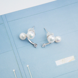 Alison- Pearl Earrings