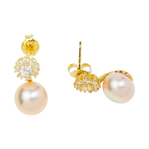 Mimi - Pearl Earrings
