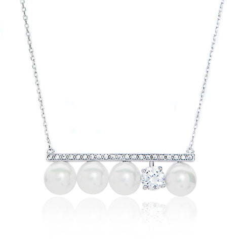 Tasaki design, Pearl Pendant Necklace