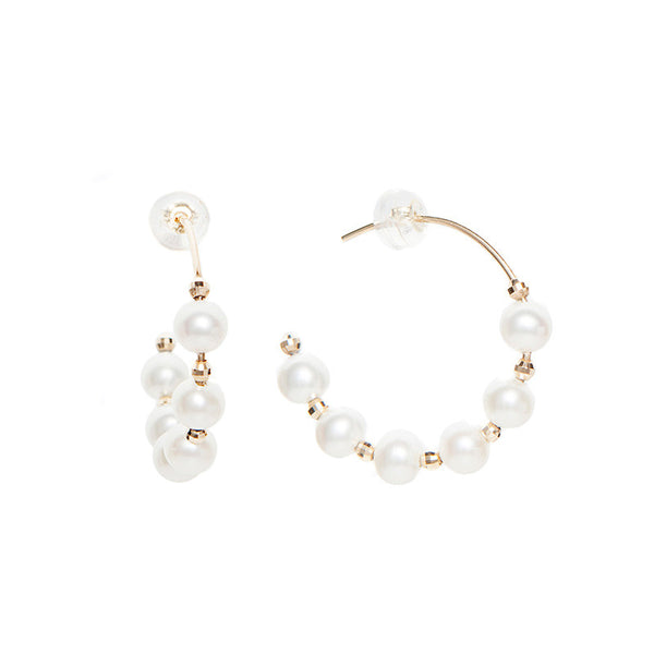14k Gold. Freshwater Pearls