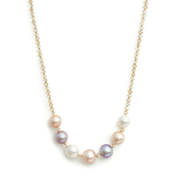 Nicole- Pearl Necklace