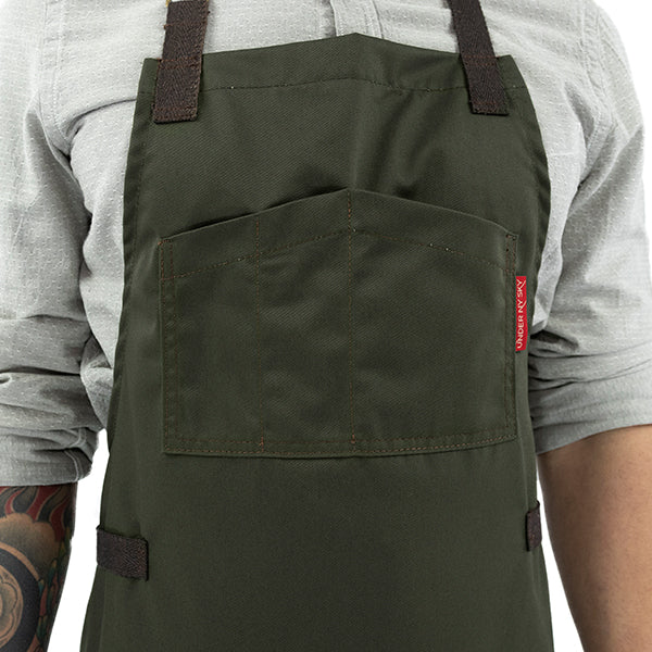 Under Ny Sky Chef Apron: Smart Pocket Design