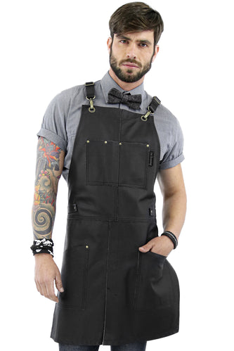 Leather Apron - Real Black Leather