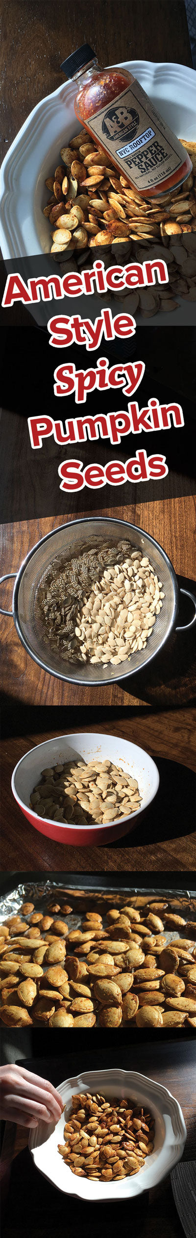 American Style Spicy Pumpkin Seeds